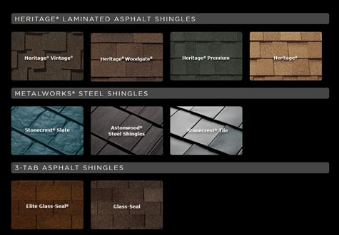 SHINGLE COLOR GALLERY