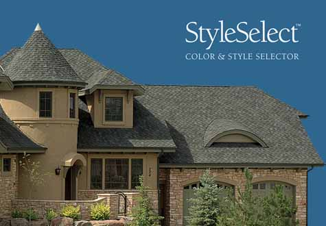 SHINGLE STYLE SELECTOR